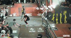 Nollie frontside flip late bigspin | Nyjah Huston  #skate #nollie #nyjahhuston #extremsport #sportextreme
