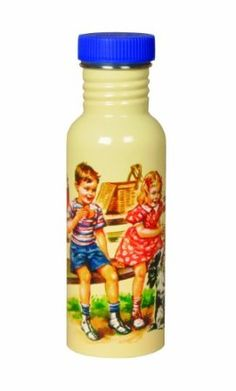 Blue Q - Dick and Jane Stainless Steel Water Bottle