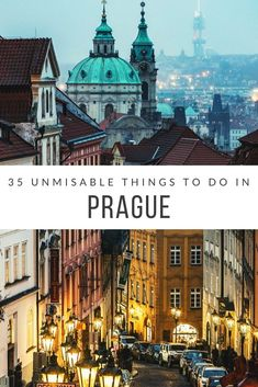Prague is a small city, so there's not much to do. Right? Wrong! Here are 35 amazing things to do in Prague for first time visitors...and that's just scratching the surface. Get started with the top guide of things to do in Prague...written by two locals!