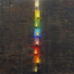 Christos Bokoros Greece Painting, Painting, Light Installation, Abstract Art, Art, Abstract, American Artists