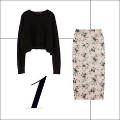 Perfect Pair: Shop Crop Tops + Pencil Skirts