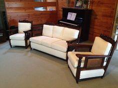 Jacobean Lounge Suite 3 Piece