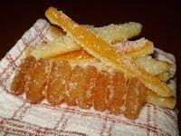 buona!!! Buono e semplice, come il pane.: Scorze di arancia candite
