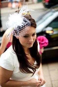 Liz Felix Millinery  Hat, bridal fascinator
