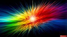 Supernova Rainbow Explosion