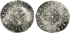 Philip the Handsome (1482-1506), for the Dukedom of Brabant, Double Briquet, 1483, Antwerp Mint.