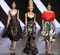 Donna Karan Spring/Summer 2015 Collection - New York Fashion Week   #NYFW #MBFW #fashionweek