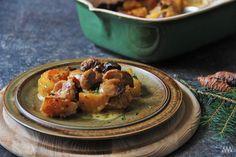 V kuchyni vždy otevřeno ...: Houby zapečené s brambory a smetanou