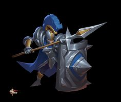 ArtStation - 剑与家园兵种立绘, BU ZHOU 2d Character, Character Design References, Character Drawing, Character Concept, Concept Art, Fantasy Fighter, Fantasy Armor, Cartoon Styles, Game Design