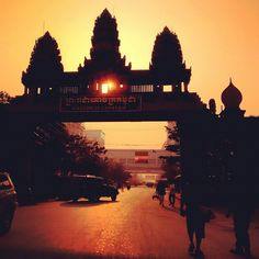 Cambodia/Thailand boarder. Poipet, Cambodia