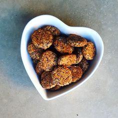 Falafels haricots rouges et sésame noir