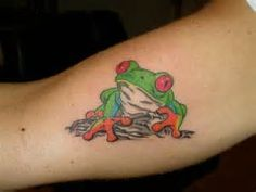 Tree Frog Tattoo