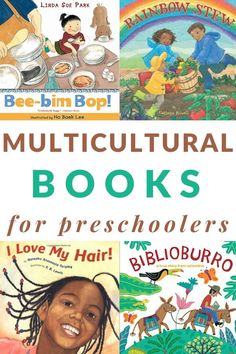 A printable book list of multicultural books for preschoolers including lots of diverse picture books perfect for reading aloud. Best Children Books, Toddler Books, Childrens Books, Baby Books, Young Children, Preschool Literacy, Preschool Lesson Plans, Kindergarten, Multicultural Crafts