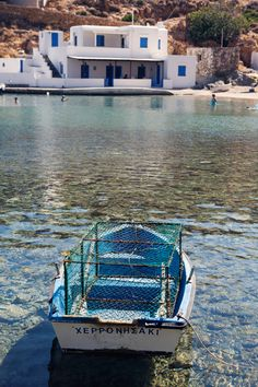 Sifnos crystal clear water , photo by Carla Coulson