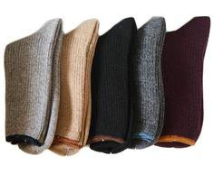 Lian LifeStyle - Lian LifeStyle Women's 1 Pair Cashmere Wool Socks Casual Solid Size 7-9(Beige) - Walmart.com - Walmart.com Knee High Sock Boots, Combat Boots Socks, Girls Knee High Socks, Black High Boots, Black Dark, Womens Wool Socks, Socks Men, Black Tube Skirt