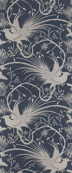 New Catherine Martin fabrics and wallpapers ... I love this one!