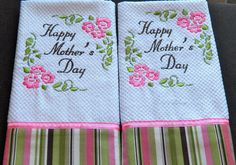 photos of embroidered kitchen towels - Google Search