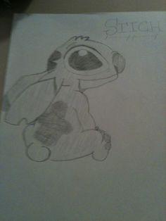 My drawing of stitch