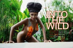 """All Things Ankara: Editorials: #BreakTheInternet """"Into The Wild"""" by Patrick Amara Photography x Damey's Collection"""