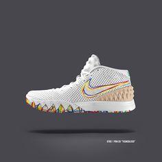 3475b947db3a93 New Nike Kyrie 1 Colorways Nike Heels