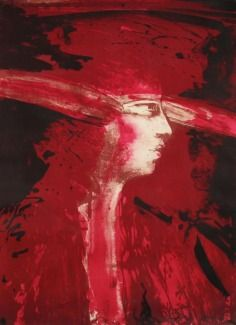 Title unknown by Norwegian painter Ørnulf Opdahl via pink pagoda studio Nordic Art, Pablo Picasso, Artsy Fartsy, Graphic Illustration, New Art, Studio, Face, Poster, Pink