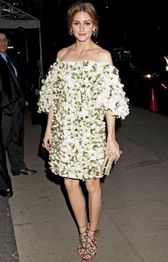 Olivia Palermo Embodies Spring with Her Unique (& Utterly Gorgeous) Take on Florals from InStyle.com