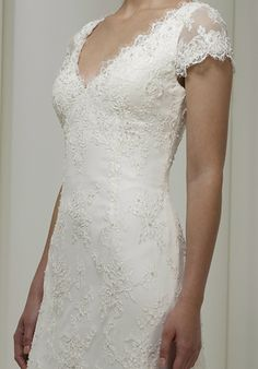 Roma gown; love the sleeves!