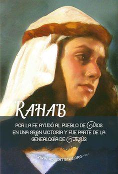 Josué 6:17 Y será la ciudad anatema a Jehová, con todas las cosas que están en ella; solamente Rahab la ramera vivirá, con todos los que estén en casa con ella, por cuanto escondió a los mensajeros que enviamos.