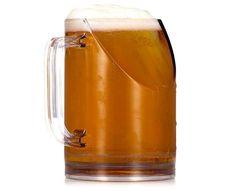 Jarra de cerveza que no te impide ver la televisión »  No Puedo Creer
