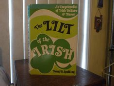 Saint Patrick's Day Book The Lilt of the by SweetPeaVintageTwo