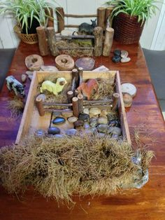 Farm animal play at Puzzles Family Day Care ≈≈