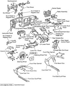 1991 Toyota Land Cruiser Electrical Wiring Diagram (FJ80