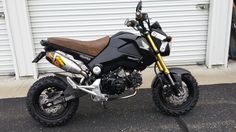 I have had the Grom for almost 2 months now, and the accumulated pile of parts is large enough that I need to focus on installs. Honda Grom, Street Racing Cars, Stunt Bike, Scrambler, Sport Bikes, Cars And Motorcycles, Motorbikes, Race Cars, Jeep Jeep