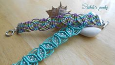 Macrame bracelet 9: http://izabelacraftwork.blogspot.ro/2015/07/macrame-bracelet-9.html