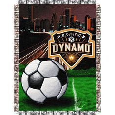 Houston Dynamo MLS Woven Tapestry Throw (Home Field Advantage) (48x60)