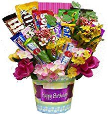 Looking for a new craft to try? We've got a sweet & fun one for you! It's no surprise that candy centerpieces have become popular. When you have one at a party or celebration, everyone admires it and then gobbles up the yummy treats. You'll be pleased to know that many candy centerpieces are easy