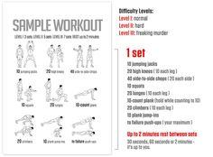 DAREBEE Workout Manual