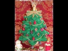Lilla's tutorials: l'alberello di Natale in feltro.  The felt Christmas tree