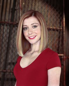Alyson Hannigan (March 24, 1974) American actress, o.a. known from the series 'Buffy, the vampire slayer' and 'How i met your mother'.