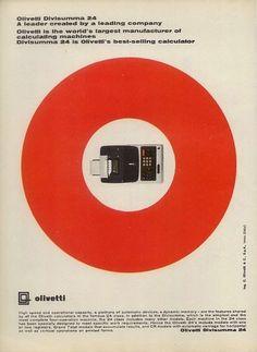 Divisumma 24 Calculator Ad, 1965