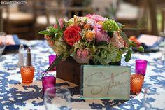 Floral arrangement from the Etter-Harbin Alumni Center