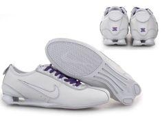 nike air max sko, kvinder nike shox r3 running sko white