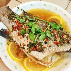 Steamed Fish in Lemon & Fish Sauce