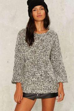 Cheap Monday Hype Cutout Sweater