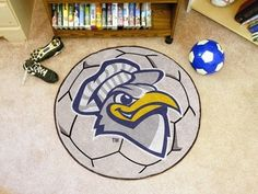 Tennessee UT Chattanooga Mocs Soccer Ball Shaped Area Rug Welcome/Bath Mat