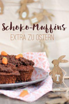 Schoko-Muffins zu Ostern - ÜberSee-Mädchen