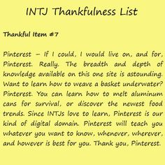 The Thankful INTJ Happy Thanksgiving Femme Dangels. From the staff at Always Uttori, we wish you a warm and safe Thanksgiving holiday. It's hard to believe that Thanksgiving is this Thursday. Intj Personality, Personality Quizzes, Intj Humor, Intj Women, Colleges For Psychology, Psychology Facts, Intj And Infj, Depth Of Knowledge