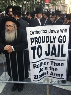 THIS IS FOR YOU Christian/Zionists! Thousands of haredim protest in Lower Manhattan. Now what?