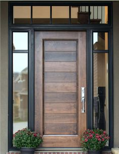 Awesome Black Exterior Doors With Glass Glass Exterior Front Doors Whitneytaylorbooks