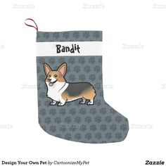 Design Your Own Pet Small Christmas Stocking